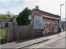 TL4658 : Derelict Garage off Newmarket Road by Kim Fyson