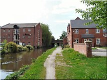 SJ9495 : Peak Forest Canal approaching Manchester Road by Gerald England