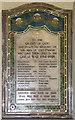 TM1581 : St Andrew, Thelveton - War Memorial WWI by John Salmon