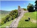 SK1482 : Peveril Castle, Castle Hill by David Dixon