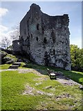 SK1482 : The Keep, Peveril Castle by David Dixon