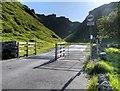 SK1382 : Arthurs Way, The road through Winnatts Pass by David Dixon