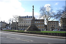 SP5106 : War Memorial, St Giles' by N Chadwick