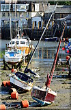 SX2553 : Looe Harbour at low tide by Edmund Shaw