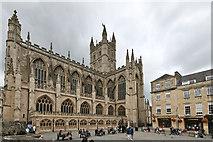 ST7564 : Bath Abbey by Kim Fyson