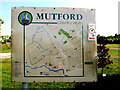 TM4888 : Mutford Country Walks Map by Adrian Cable