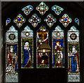 TF0471 : East window, St Clement's church, Fiskerton by J.Hannan-Briggs