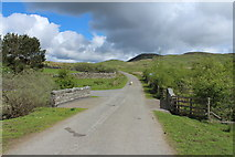 NX6060 : Road to Laurieston at Laghead Bridge by Billy McCrorie