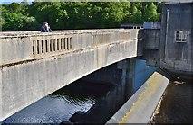 NN9357 : Hydroelectric dam, Pitlochry by Jim Barton