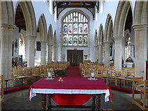 SP7006 : Inside St Mary Thame (XI) by Basher Eyre