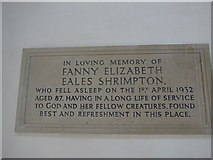 SP7006 : St Mary, Thame: memorial (43) by Basher Eyre