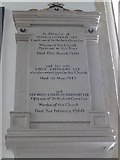 SP7006 : St Mary, Thame: memorial (51) by Basher Eyre