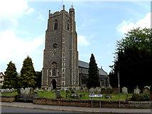 TM2373 : All Saints Church, Stradbroke by Adrian Cable