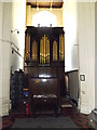 TM1877 : Organ of St.Peter & St.Paul Church, Hoxne by Geographer
