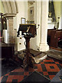 TM1877 : Lectern of St.Peter & St.Paul Church, Hoxne by Geographer