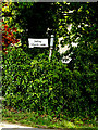 TM1577 : Roadsign on the B1118 Lower Oakley by Adrian Cable