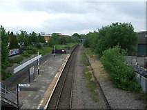 SJ8993 : Reddish South Railway Station by JThomas