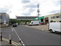 TQ2182 : Waste transfer site, Old Oak sidings by David Hawgood