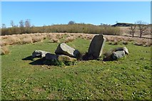 NS5380 : Duntreath Standing Stones by Lairich Rig