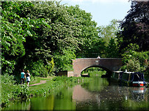 SO8999 : Tettenhall Old Bridge, Wolverhampton by Roger  Kidd