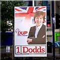 J5081 : 'DUP' election poster, Bangor by Rossographer
