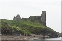 NS2515 : Dunure Castle - remains of by John Firth