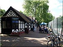 TQ2882 : Pavilion Café, Regent's Park, NW1 by David Hallam-Jones