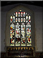 TM1577 : Stained Glass Window of St.Nicholas the Great Church by Adrian Cable