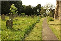 SK8770 : All Saints' church path by Richard Croft