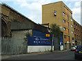 TQ3478 : Blue Anchor Garage (closed) by Stephen Craven