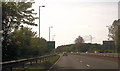 NS3628 : A78 west of Dutch House roundabout by John Firth