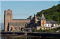 NM8530 : St Columba's Cathedral & Alexandra Hotel, Oban by The Carlisle Kid
