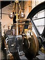 SD3788 : Stott Park Bobbin Mill Steam Engine (Governor) by David Dixon
