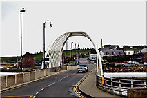 L7399 : County Mayo - Achill Island - Achill Sound - R319 Bridge  by Suzanne Mischyshyn