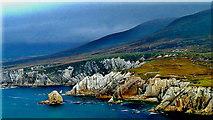 L6896 : County Mayo - Achill Island - Portnahally / Ashliem Bay Coastline by Suzanne Mischyshyn