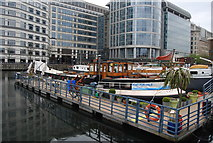 TQ3780 : Leven is Strud, West India Dock by N Chadwick