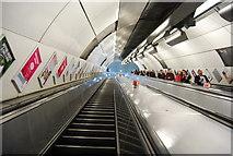 TQ3280 : London Bridge Underground Station by N Chadwick