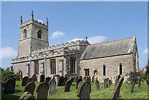 SK8594 : St  Martin's church, Blyton by J.Hannan-Briggs