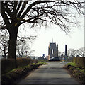 SP0774 : Tower of St Mary's Church, Wythall by Robin Stott