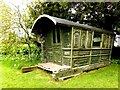NY5123 : Gypsy caravan in the grounds of Askham Hall by Norman Caesar