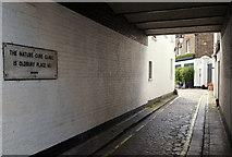 TQ2881 : Oldbury Place, London W1 by David Hallam-Jones