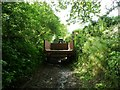 SU0256 : Tractor & trailer filling the byway from Eastcott Common by Christine Johnstone