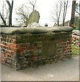 TQ8485 : Tomb of Mary Ellis at St Clements Church by Clint Mann