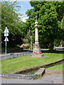 SK5526 : War Memorial, Brookside, East Leake by Alan Murray-Rust