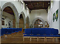 SK5526 : The nave, St Mary's, East Leake by Alan Murray-Rust