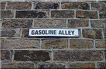 SE1039 : Gasoline Alley, Bingley by michael ely