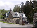 NN8636 : Gatehouse for Glen Quaich Lodge by Stanley Howe