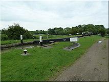 SP7256 : Lock 8, Grand Junction Canal - Northampton Arm by Mr Biz