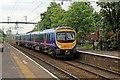 SJ7698 : First TransPennine Class 185, 185139, Patricroft railway station by El Pollock