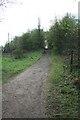 TQ2253 : Ramp to M25 crossing by Hugh Craddock